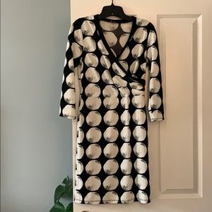 The Limited black and white size XS dress